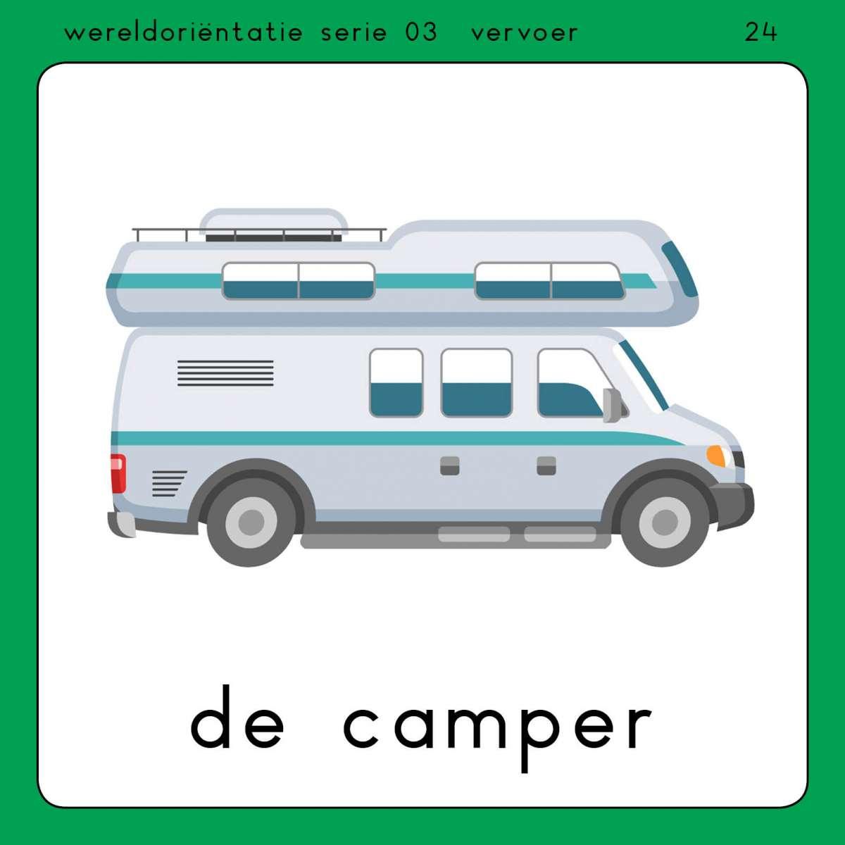 Voorbeeld kaart Vervoer